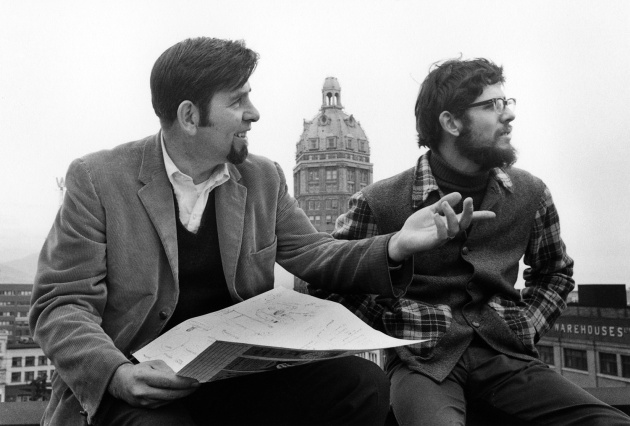 Michael de Courcy, Werner Aellen's Intitiation as Intermedia Director, 1968