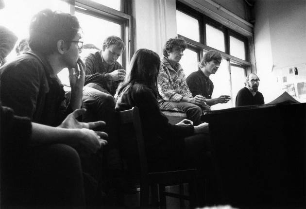 Michael de Courcy, Meeting at Intermedia on Beatty Street, 1968