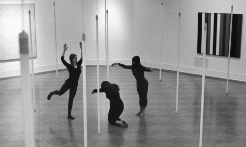 Michael de Courcy, The Co. rehearsing for Intermedia Nights, 1968
