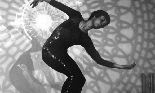 Michael de Courcy, Heather McCallum performing at Intermedia nIght, 1968