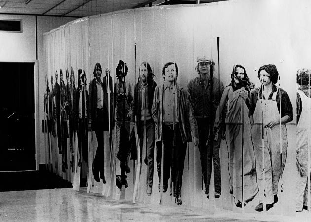 Exit Mural, 1970