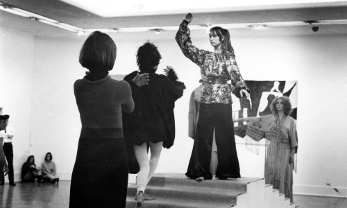 Michael de Courcy, The Co. rehearsing for Chromatic Steps, 1968