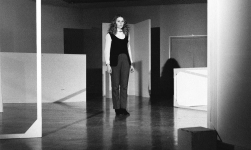 Michael de Courcy, Judith Schwartz performing White Room, 1968