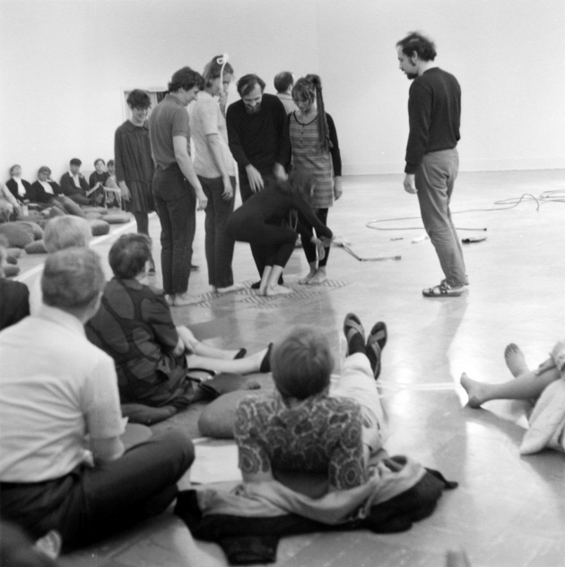 Michael de Courcy, Deborah Hay Workshop, 1969
