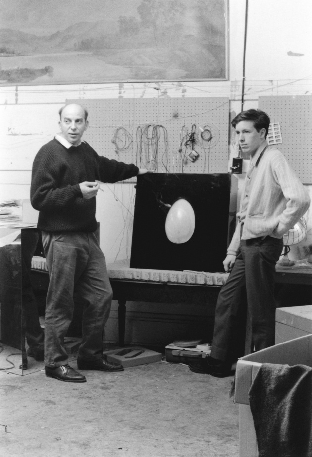 Michael de Courcy, Tom Osbourne and his Fibre Optic Egg, 1969