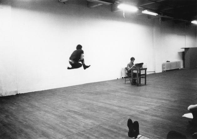 Michael de Courcy, Steve Paxton workshop at Intermedia, 1969