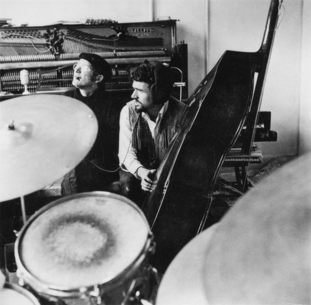 Michael de Courcy, The Al Neil Trio rehearsing at Intermedia, 1968