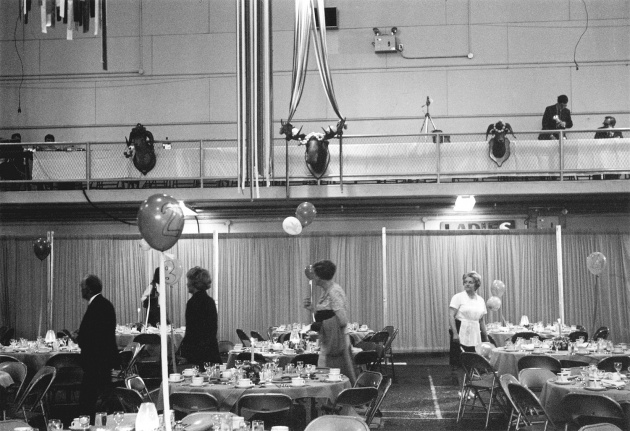 Michael de Courcy, Liberal Party Fundraiser at the Seaforth Armory, 1969