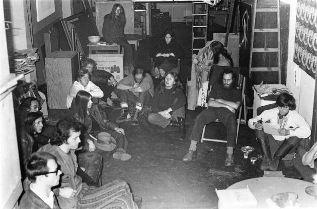 Michael de Courcy, Meeting on 4th Avenue, 1969