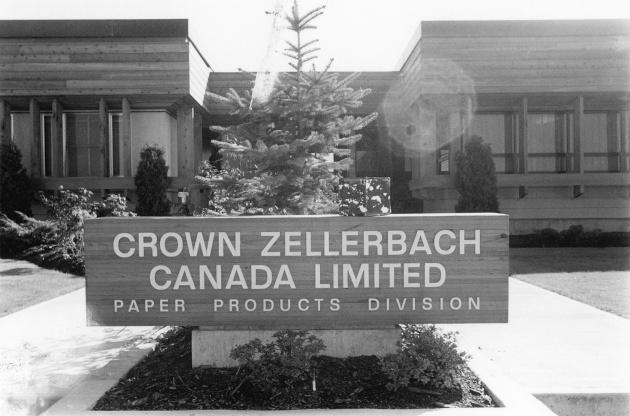 Crown- Zellerback Canada Meeting, Michael de Courcy, 1969