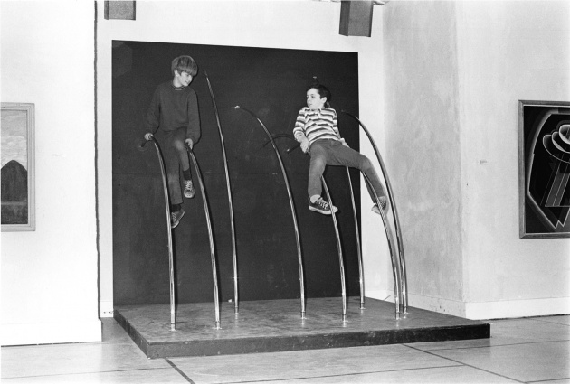 Vancouver Art Gallery's satellite space the Racetrack Gallery, Michael de Courcy, Dennis Vance, 1970