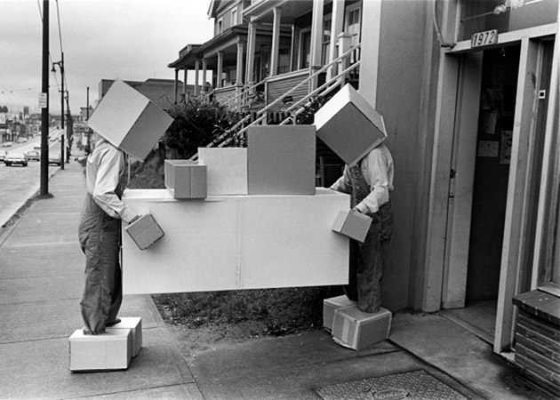 Michael de Courcy, Box Work performance, 1970