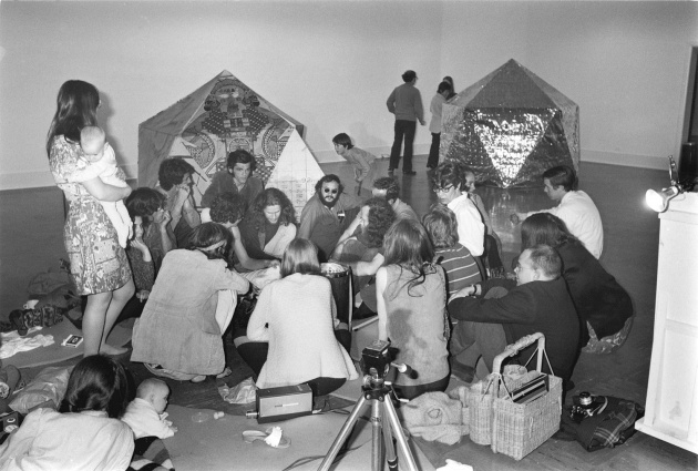 Intermedia Project Meeting at the Dome Show, 1970