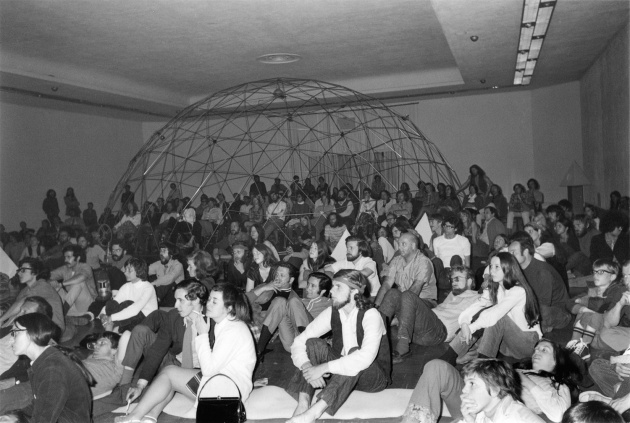 Michael de Courcy, Film screening at the Dome Show, 1968