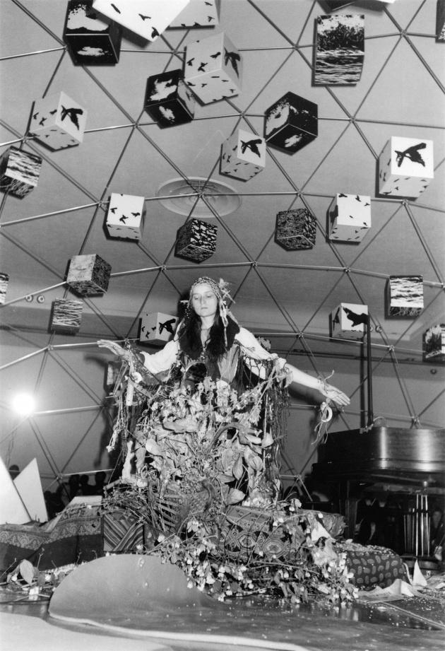 Michael de Courcy, Al Neil Trio performing at the Dome Show, 1970