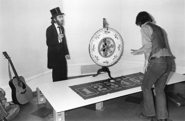 Michael de Courcy, Games at City Feast, 1970