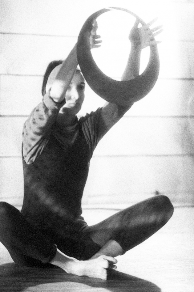 Jack Dale, A WECO dancer performing at the Motion Studio, 1966
