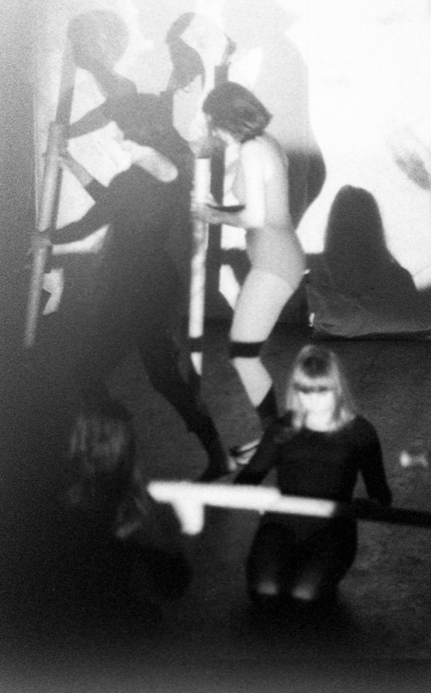 Jack Dale, A performance by WECO at the Motion Studio, Judith Schwarz pictured lower right, 1966