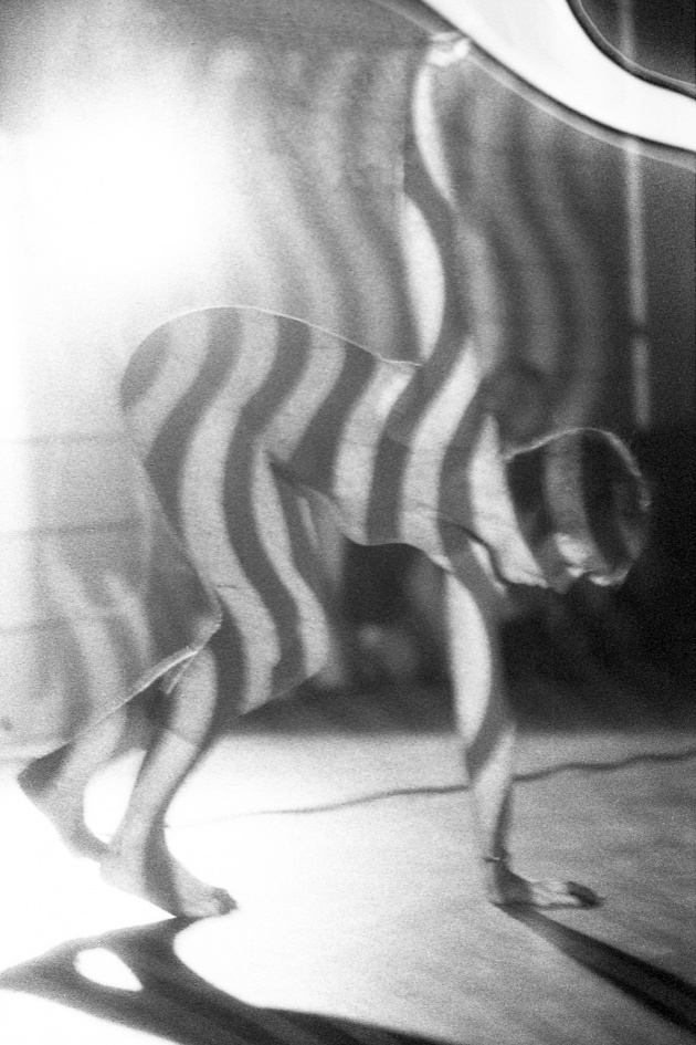 Jack Dale, WECO dancer Heather McCallum performing at the Motion Studio, 1966