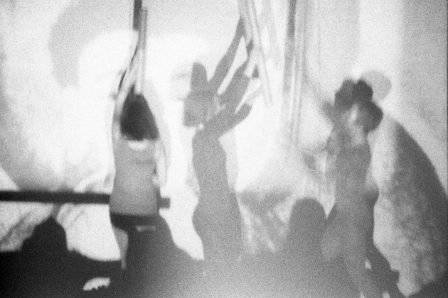 Jack Dale, WECO dancers performing at the Motion Studio, 1966