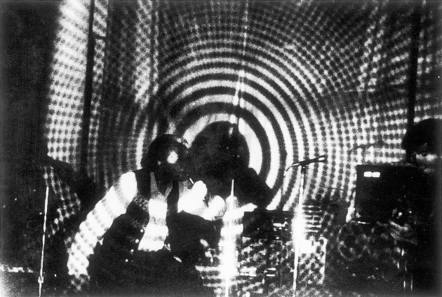 Jack Dale, Al Neil and Sam Perry at the Sound Gallery, 1966