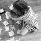 Carole Itter, Children Playing Cards, Series of 3 photographs, 1976
