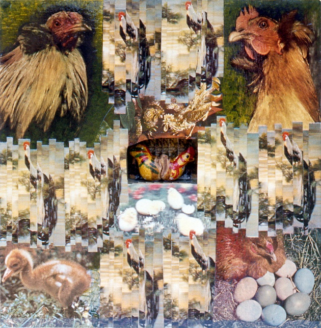 Carole Itter, Chicken Box #8, 1974