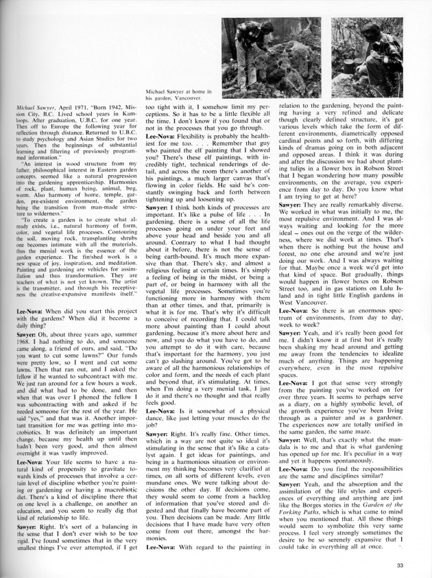 """Our Beautiful West Coast Thing"",  artscanada, June/July, 1971 (page 33)"