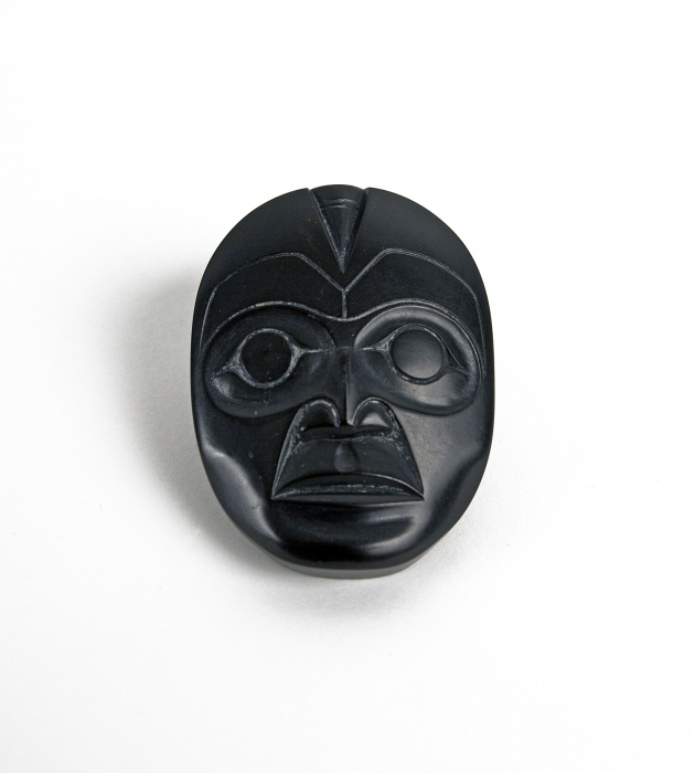 Pat McGuire, Face Carving, 1970