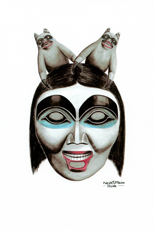 Pat McGuire, Haida Bear Mother, 1979