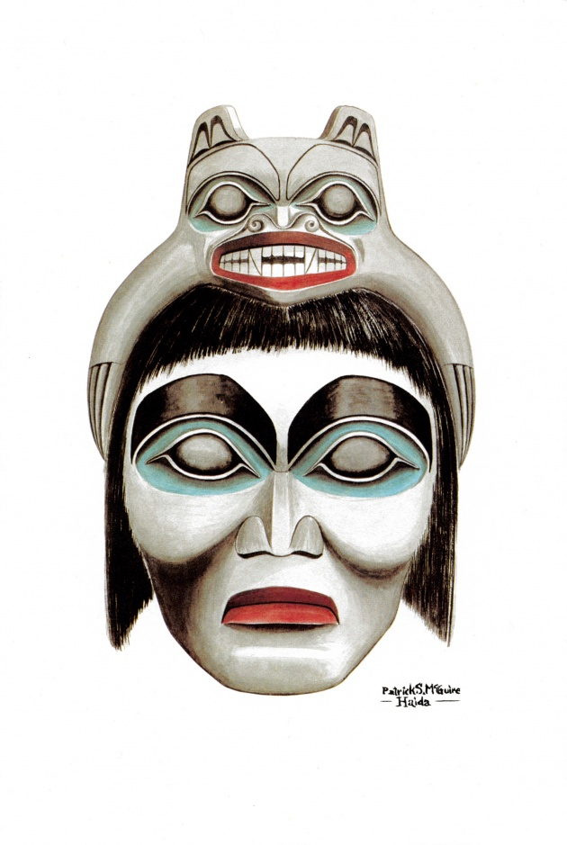 Pat McGuire, Haida Bear Chief, 1979