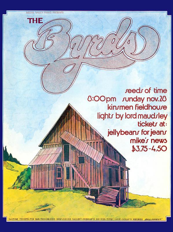 Bob Masse, The Byrds, 1976